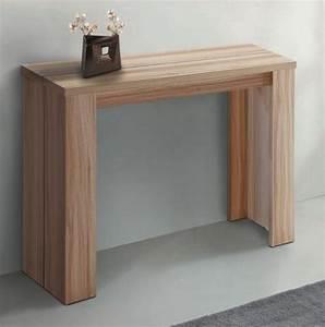 Table Console Extensible : table console gigogne ~ Teatrodelosmanantiales.com Idées de Décoration
