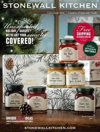 stonewall kitchen gift guide   stonewall kitchen issuu