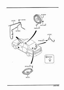 Mazda Protege Speaker  Loud-rear