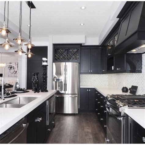 black cabinet kitchen ideas why i 39 m dreaming of a black kitchen organizing made