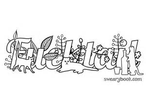Swear Words Coloring Pages Adult