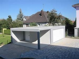 Prix Garage Parpaing 20m2 : garage toit plat prix maison fran ois fabie ~ Dailycaller-alerts.com Idées de Décoration