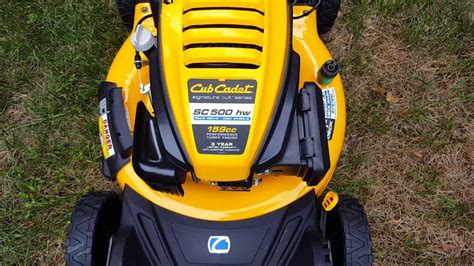 cub cadet sc 500 hw it s alright youtube