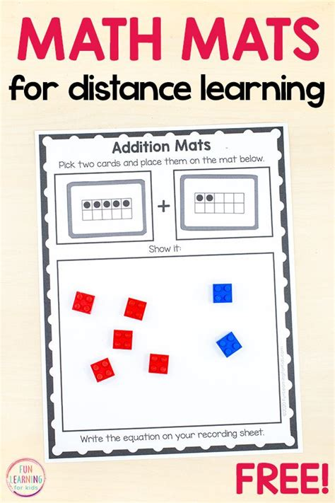 simple addition  subtraction mats  lego