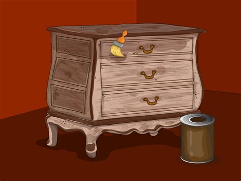 distress wood furniture  pictures wikihow