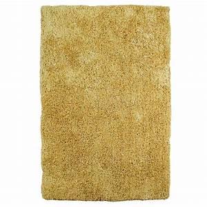tapis shaggy a longues meches jaune moelleux With tapis shaggy avec housse canapé jaune