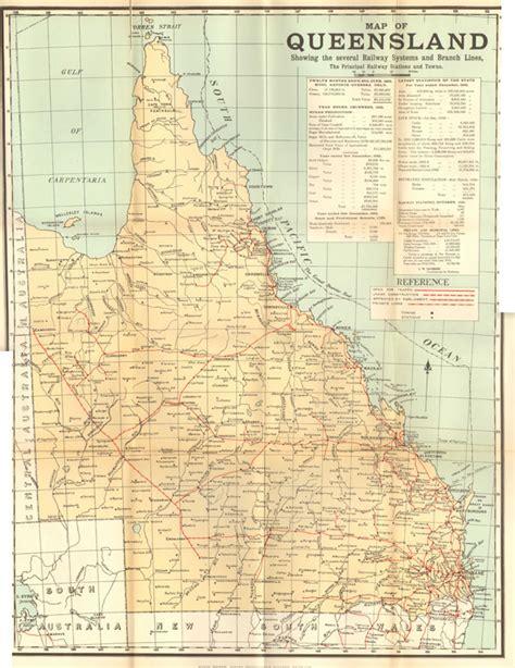 queensland maps prints photographs ephemera