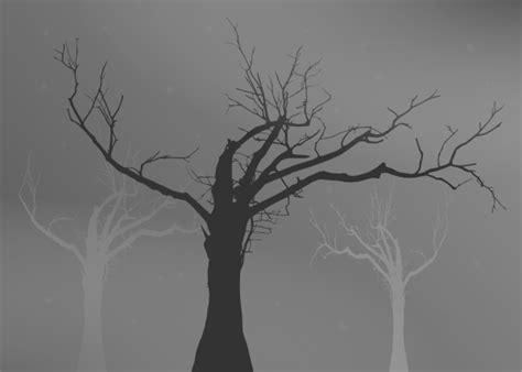 tree   leaves silhouette clip art  clkercom