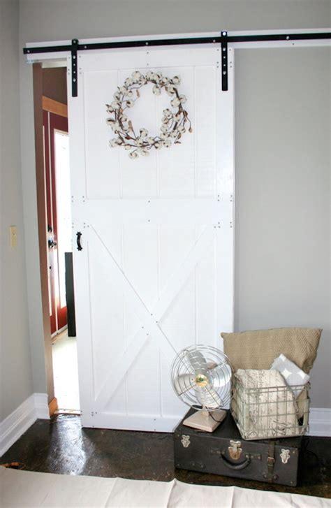 ana white diy barn door  hardware