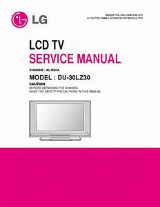 Lg Al03ha Chassis Du30lz30 Lcd Tv Service Manual Free Download  Schematics  Eeprom  Repair Info