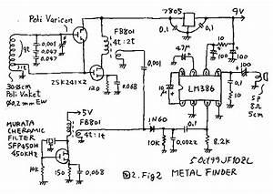 homemade metal detector With hidden camera detector circuit