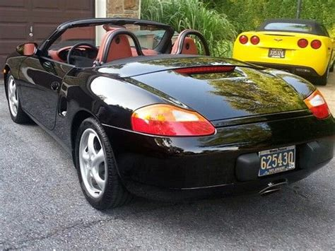 convertible porsche red sell used 1998 porsche boxster convertible black with