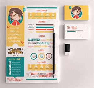 20 best free resume cv templates in ai indesign psd With free cute resume templates