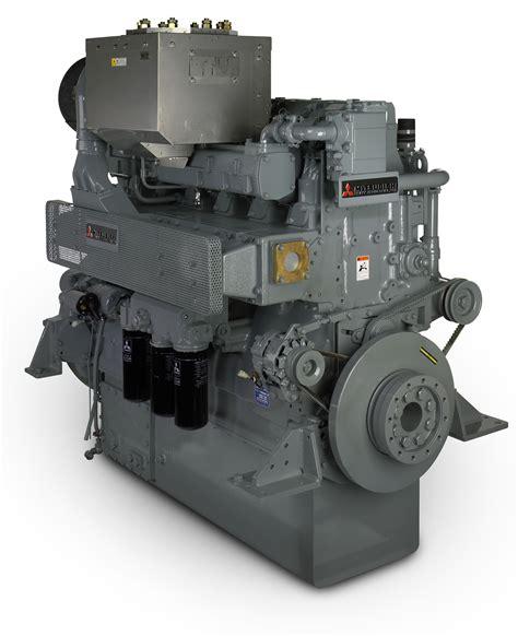 Mitsubishi Marine Engines by New Mitsubishi High Output Engine Introduced At Europort