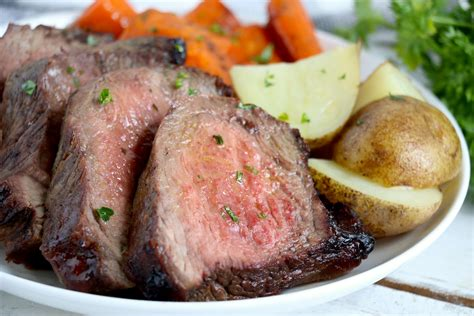 roast air fryer pot cooking round eye beef steak frying cook recipes fried fork before need brown minutes easy marinated