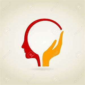 A vector illustration (brain, human, head) | Logos ...