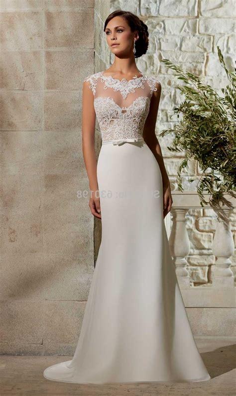 Simple Elegant Wedding Dresses With Straps Naf Dresses