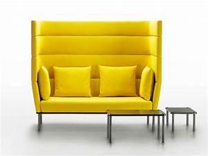 Sofa Hohe Lehne : element sofa mit hoher r ckenlehne by mminterier design boris klimek ~ Watch28wear.com Haus und Dekorationen