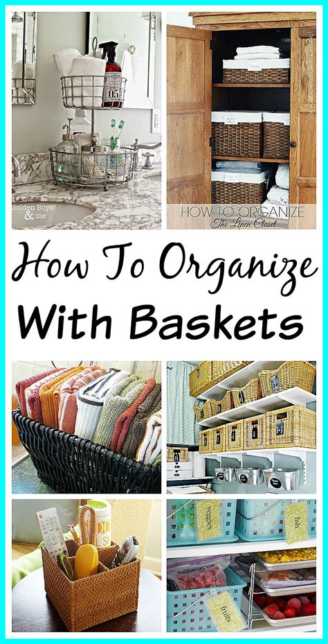 10 Pretty Ways To Organize With Baskets A Cultivated Nest