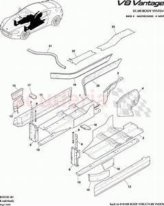 Aston Martin V8 Vantage Underbody Parts