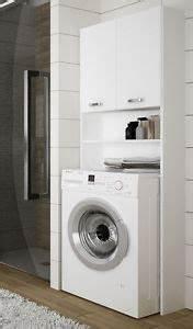 überbauschrank Für Waschmaschine : waschmaschinenschrank berbauschrank badhochschrank 64cm wei hochglanz neu d9 ebay ~ Markanthonyermac.com Haus und Dekorationen
