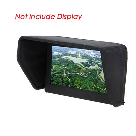 7 inch l shade high quality 7 inch fpv lcd monitor display sun shade sun