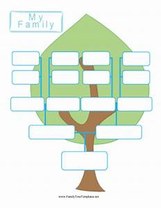 Cute Family Tree Template