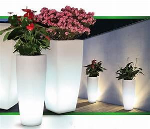 Pot De Fleur Carré : pot fleur lumineux carr poterie pot de fleurs ~ Dailycaller-alerts.com Idées de Décoration