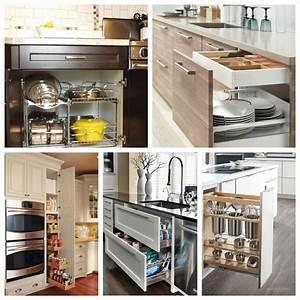44 Smart Kitchen Cabinet Organization Ideas - GODIYGO COM