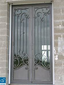 Porte En Métal : portes et fen tres arts et forges ~ Teatrodelosmanantiales.com Idées de Décoration