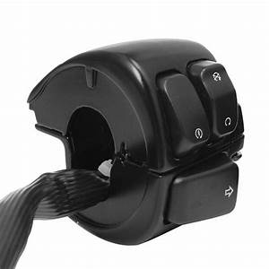 Motorcycle 1 U0026quot  Handlebar Turn Signal Control Switch For