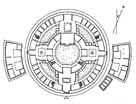 southwestern house plans 4 1 3 1 the circular radial model quadralectic architecture
