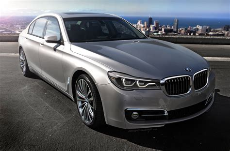 2016 Bmw 7 Series  New Rendering