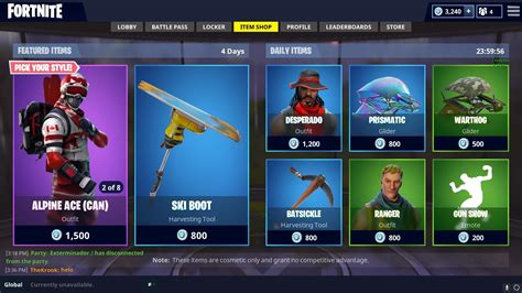 fortnite  skins    bucks escapadeslegendesfr