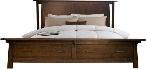 Sodo Dark Sumatra King Storage Platform Bed From A-america
