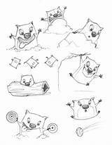 Stew Template Too Coloring Pages Sketch Wombats Feelings sketch template