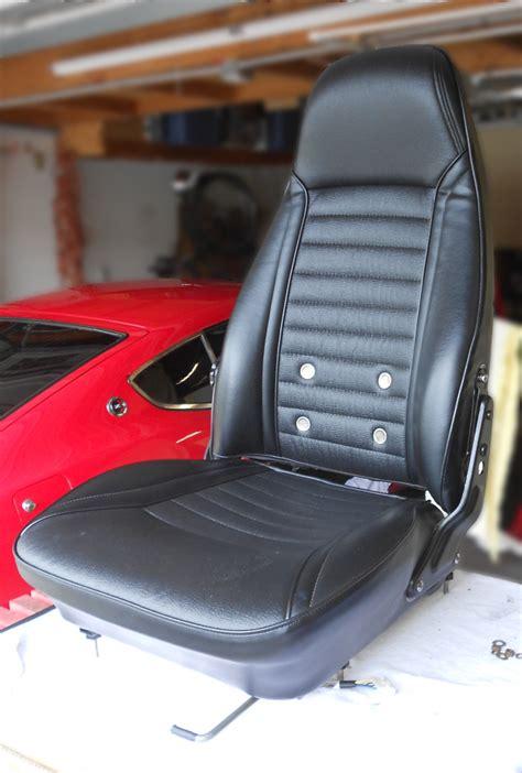 datsun  seat rebuild  upholstery