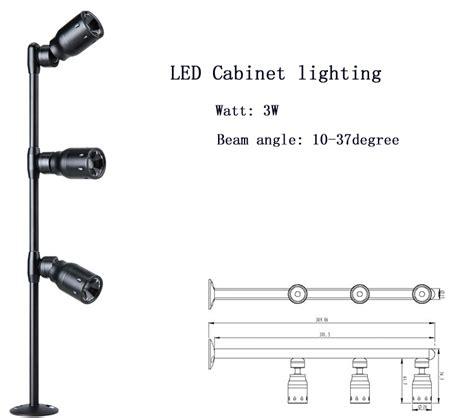 1w mini spotlight adjustable beam led display light
