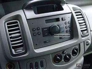 2006 Opel Vivaro 2 0 Cdti Box Truck Trailer Coupling Abs