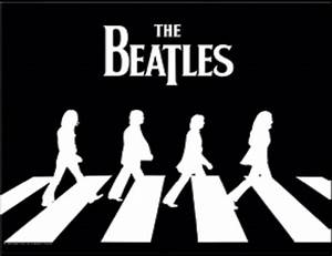 "TrippyStore.com - The Beatles ""Black And White Abbey Road ..."