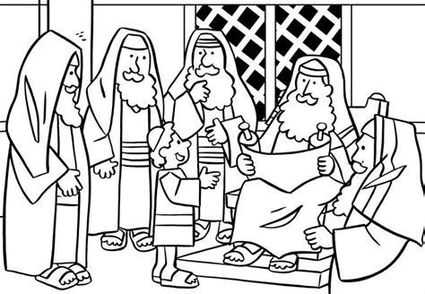Tempel Kleurplaat by Jesus In The Temple Coloring Page Teaching 3 S