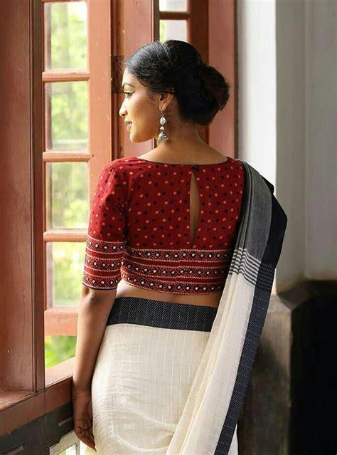 cotton blouse designs   amazingly simple