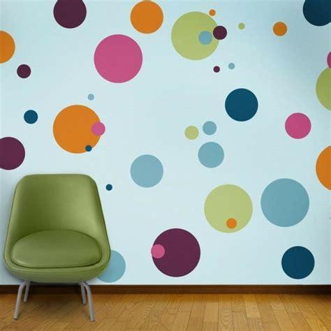 Wandgestaltung Kinderzimmer Kreise babyzimmer wandgestaltung malen