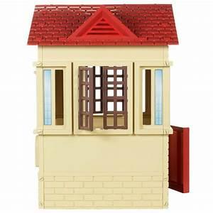 Tan Cottage Playhouse