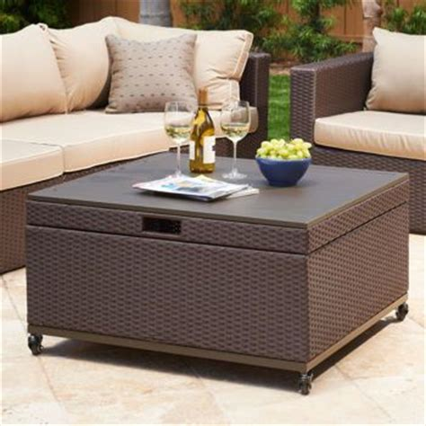 patio coffee table with storage inspiration for patio coffee table with storage newport