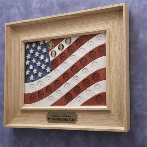 presidential coin flag woodworking plan  wood magazine