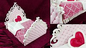 Valentines Bed Cake - Yeners Way