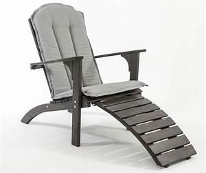 Sitzkissen Für Gartenstühle : sitzkissen auflage f r adirondack chair stuhl hochlehner deckchair grau kissen ebay ~ Buech-reservation.com Haus und Dekorationen