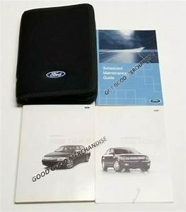 2008 Ford Taurus Owners Manual User Guide Se Limited Sel