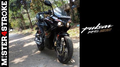 Bajaj Pulsar Rs200 First Ride Review  Mister4stroke Youtube
